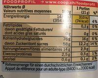 Crispy Berries & Apple - Ingredienti - fr