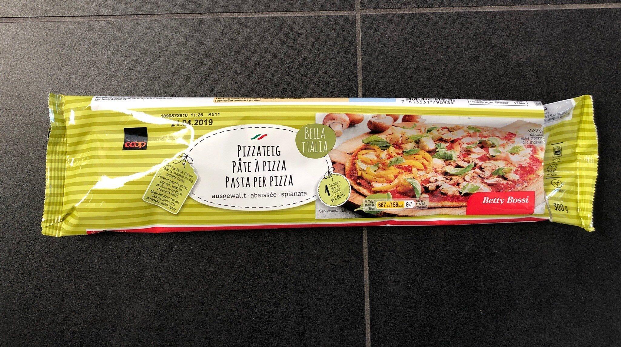 Pâte à pizza abaissée - Prodotto - fr