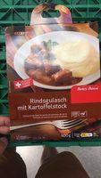Goulasch de bœuf et purée de pommes de terre - Product