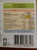 Goulasch de bœuf et purée de pommes de terre - Nutrition facts
