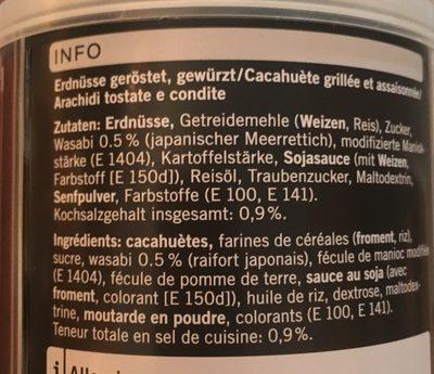 Coop Fine Food Green Curry - Ingredienti - de