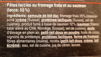 Fiori al salmone - Ingredients - fr
