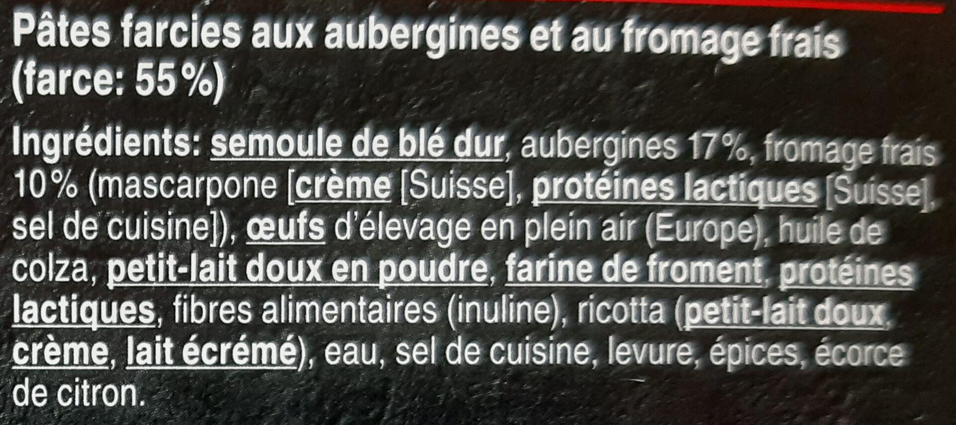 Fiori Melanzane - Ingrédients - fr