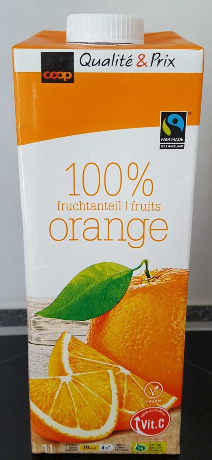 100% Fruits Orange - Produit - fr