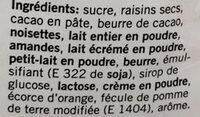 Dragées Mix Choco - Ingredienti - fr