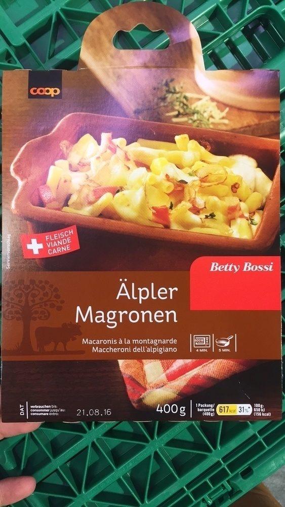 Alpfer magronen - Product