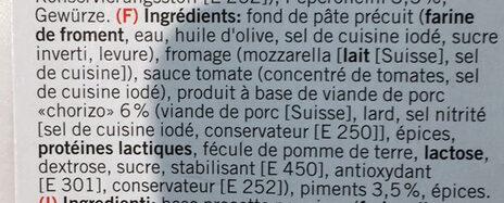 Diavola - Ingrediënten - fr