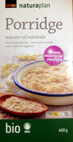 Porridge nature - Product - fr