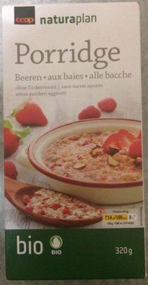 Porridge aux baies sans sucres ajoutés - Produit - fr