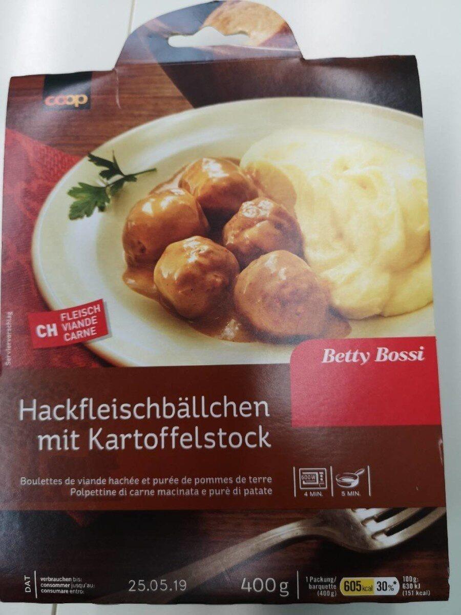 Boulettes de viande hachée et purée de pommes de terre - Product