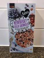 Blueberry chia Granola - Product - fr