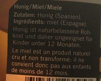 Miel de fleur d oranger - Ingredienti - fr
