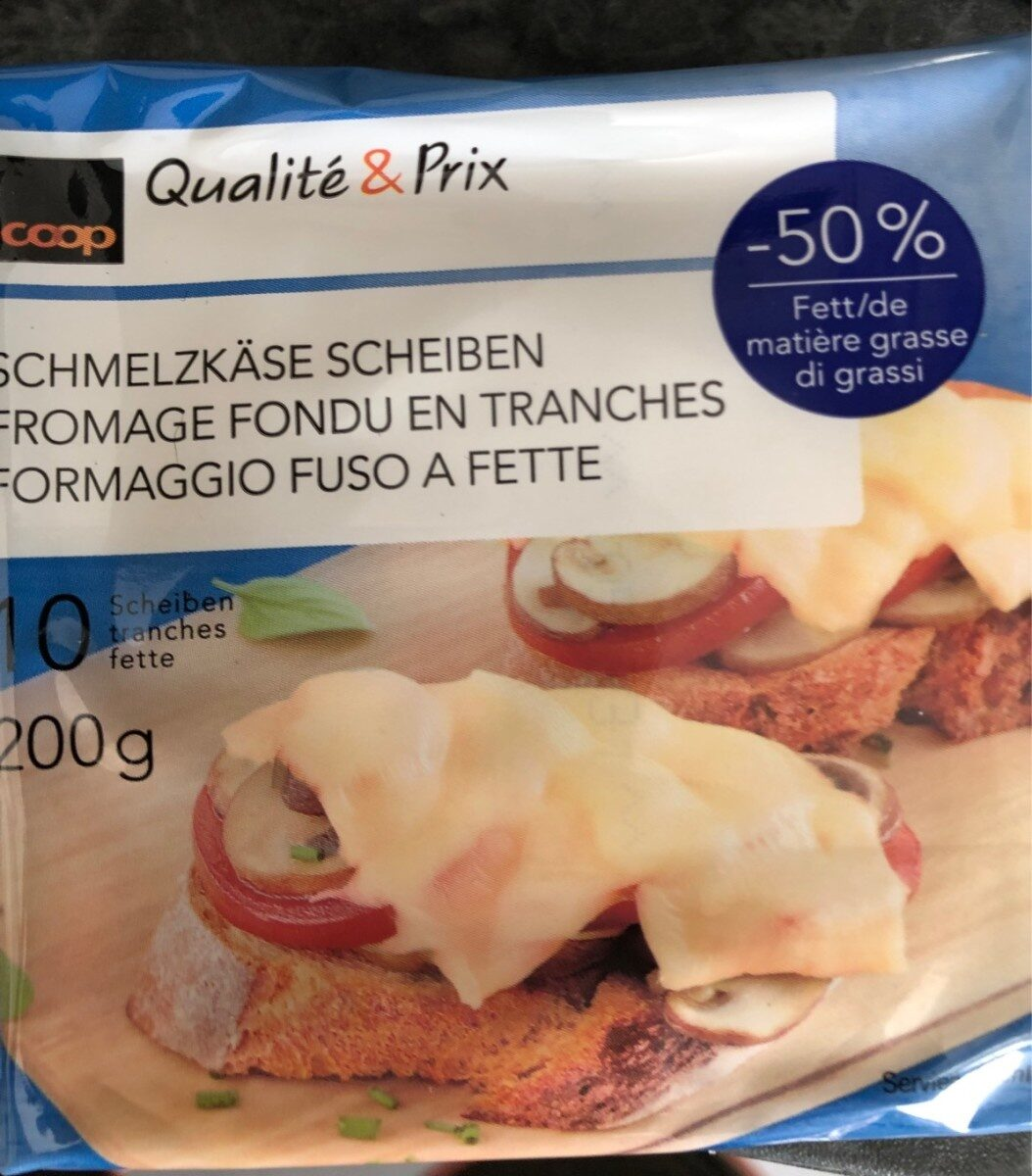 Qualité & Prix Sliced Cheese - Product - fr