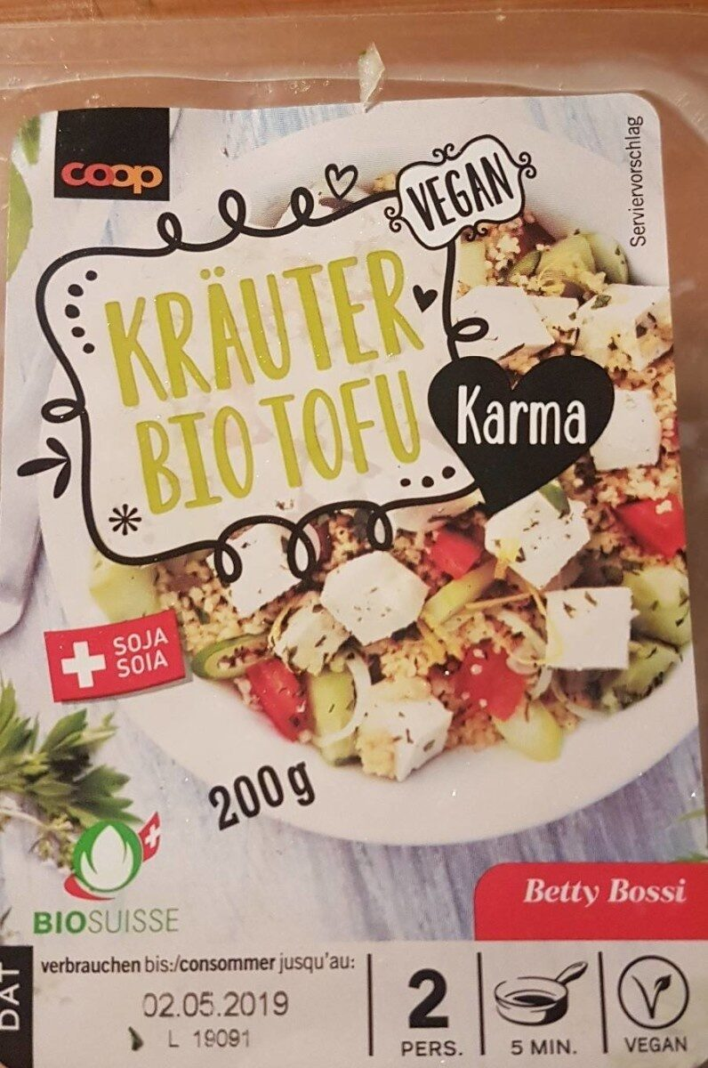 Tofu aux herbes - Produit