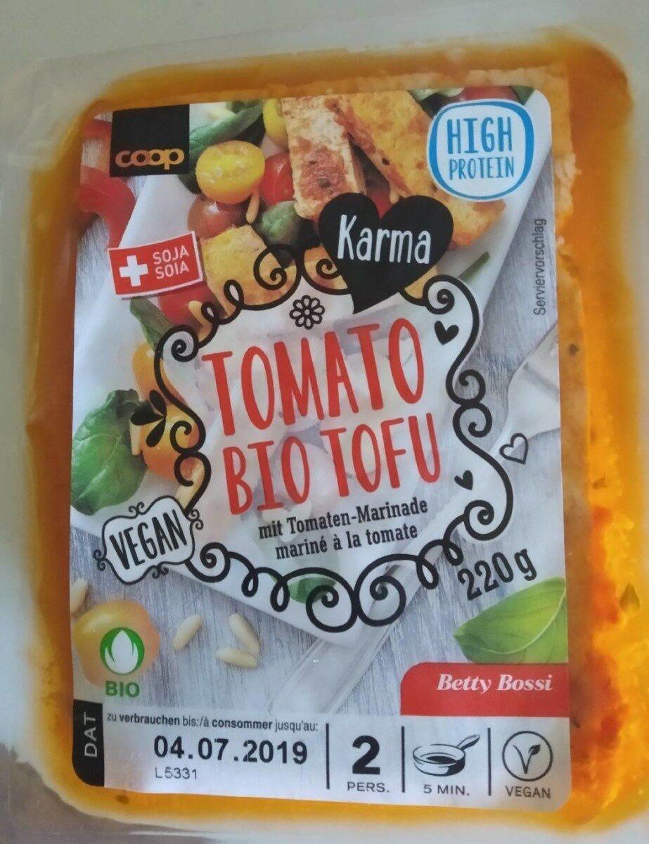 Tomato bio tofu - Product