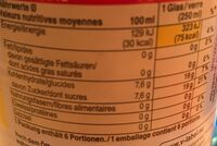 Ice Tea Classic - Nutrition facts - fr