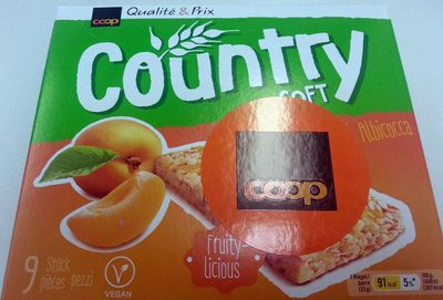 Country soft Abricot - Product