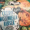 Crispy Mozzarella Burger , Mit Tomaten - Product