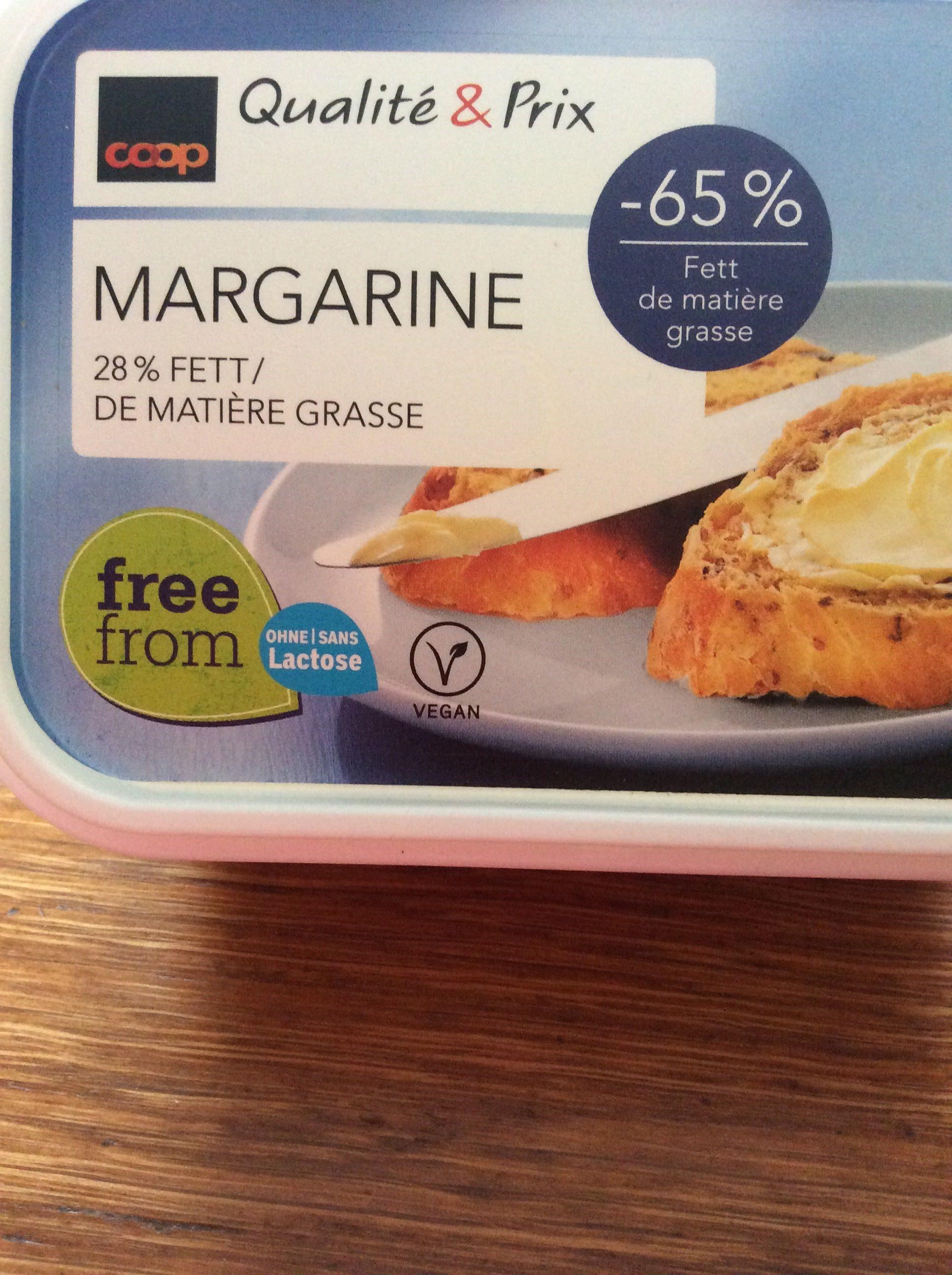Coop Qualité & Prix Margarine - Product - fr
