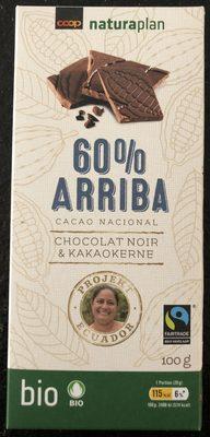 Coop Naturaplan Fairtrade Bio Cacao Nacional 60% Arriba - Product