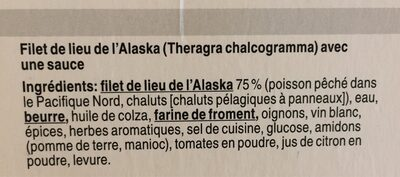 Poisson au four provençale - Ingrédients