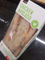 Chicken Avocado Sandwich - Produit - fr