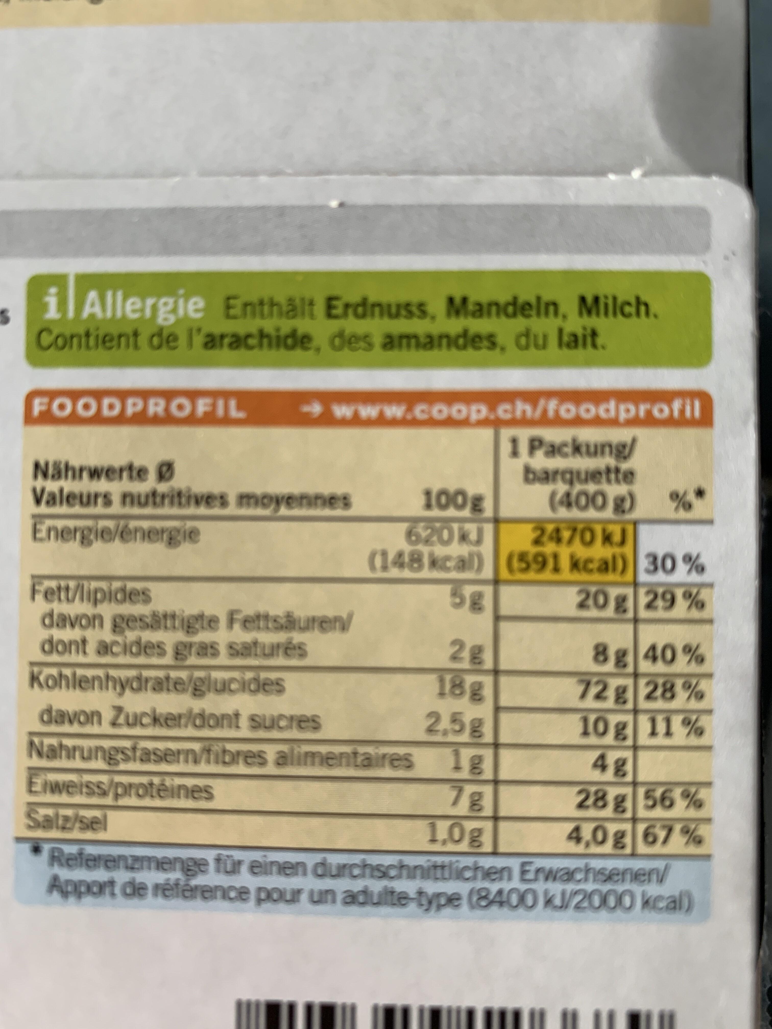 Chicken Tikka Masala - Valori nutrizionali - fr