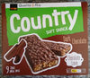 Country soft snack Dark chocolate - Product