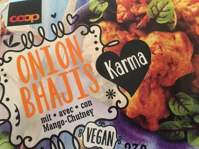 Onion Bhajis - Produit