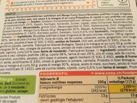 Onion Bhajis - Ingrédients - fr