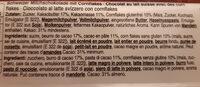 Chocolat cornflakes - Ingredientes - fr