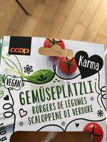 Burgers de légumes - Produit - de