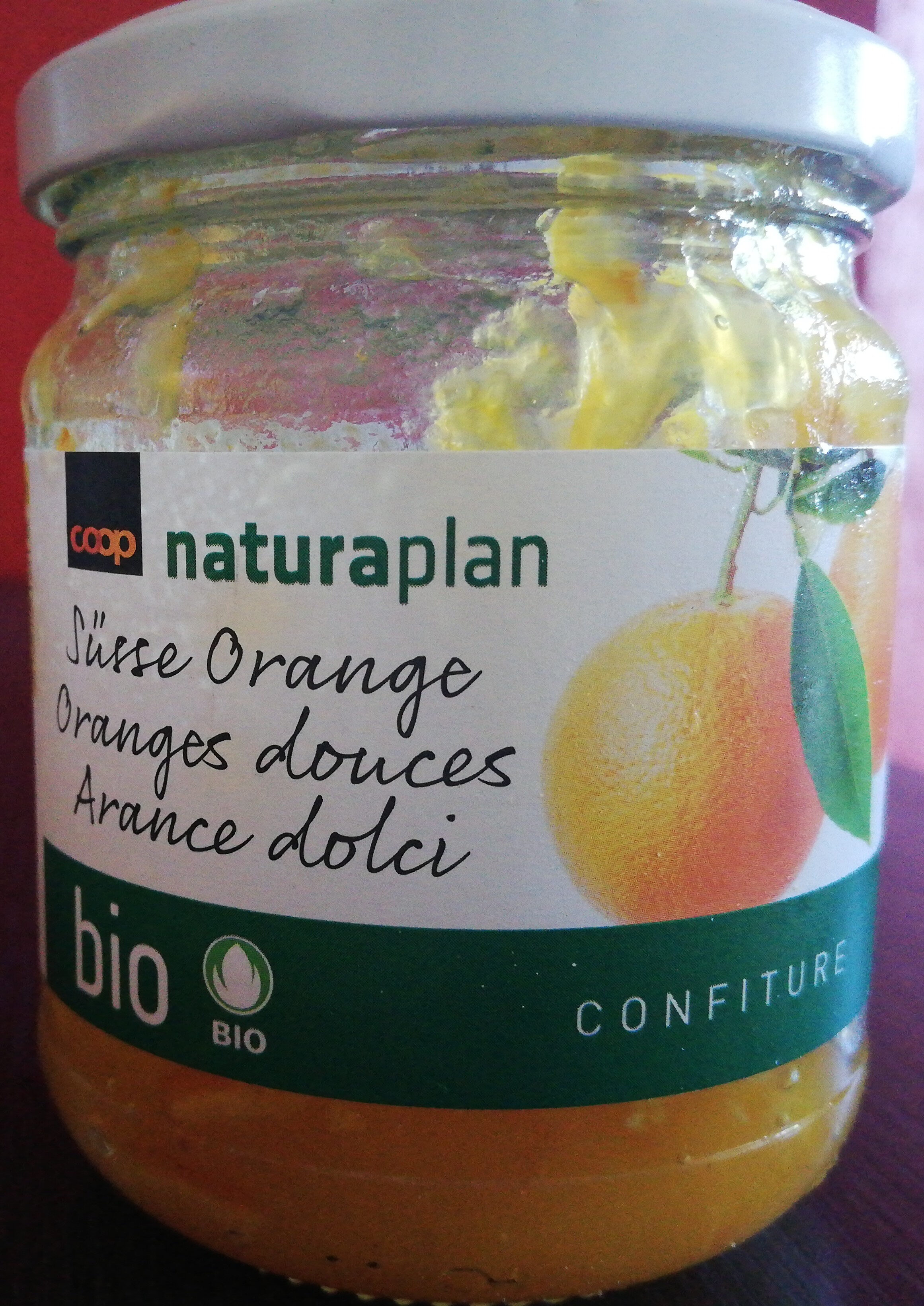 Confiture Oranges Douces Bio - Product