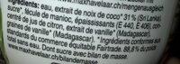 Jocos - Ingrédients - fr