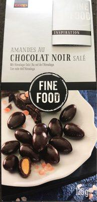 Amandes au chocolat noir salé - Produit - fr