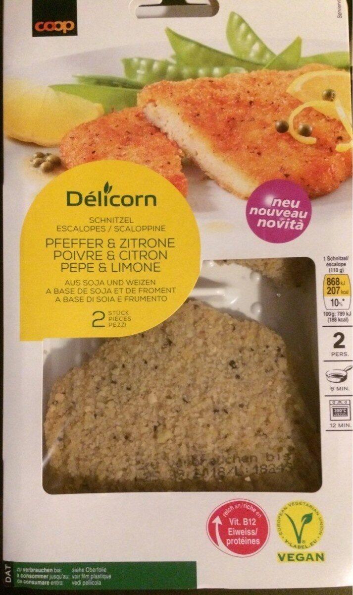 Escalope poivre et citron - Product - fr