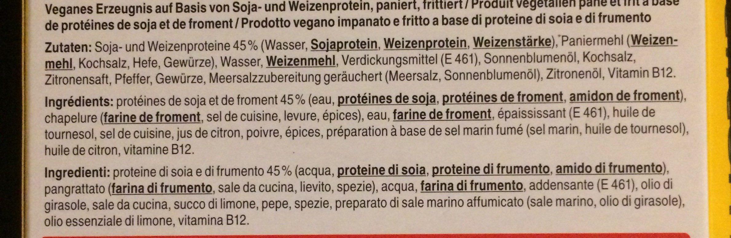 Escalope poivre et citron - Ingredients - fr