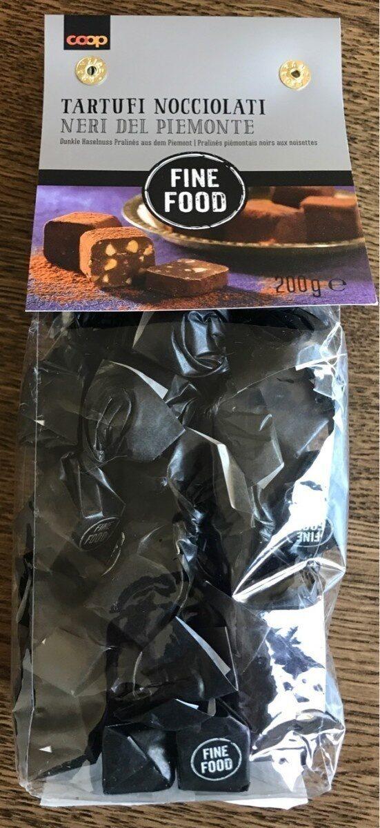 Pralinés piémontais noirs aux noisettes - Prodotto - fr