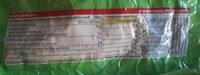 Pistaches salées - Informations nutritionnelles - fr