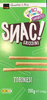 Snac grissini - Product