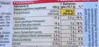 Chocolat au lait suisse avec des noisettes entières - Voedingswaarden - fr