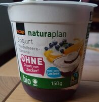 Jogurt heidelbeere-banane - Product - fr