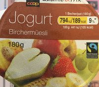 Yogourt Birchermuesli - Product - fr