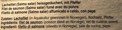 Stremellachs Saumon - Ingrédients - fr