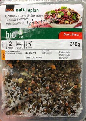 Lentilles vertes aux legumes - Prodotto - fr