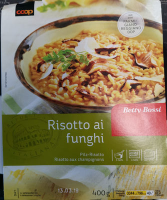Risotto Funghi - Produit - fr