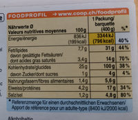 Risotto Funghi - Informations nutritionnelles - fr