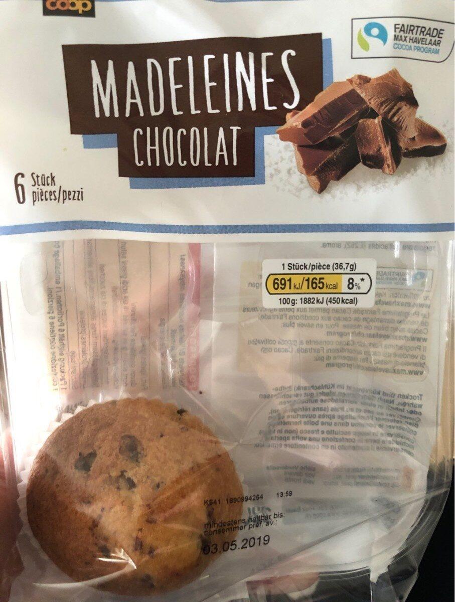 Madeleines chocolat - Product