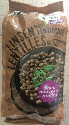Lentilles brunes - Prodotto - fr