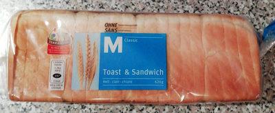 Toast & Sandwich - Product